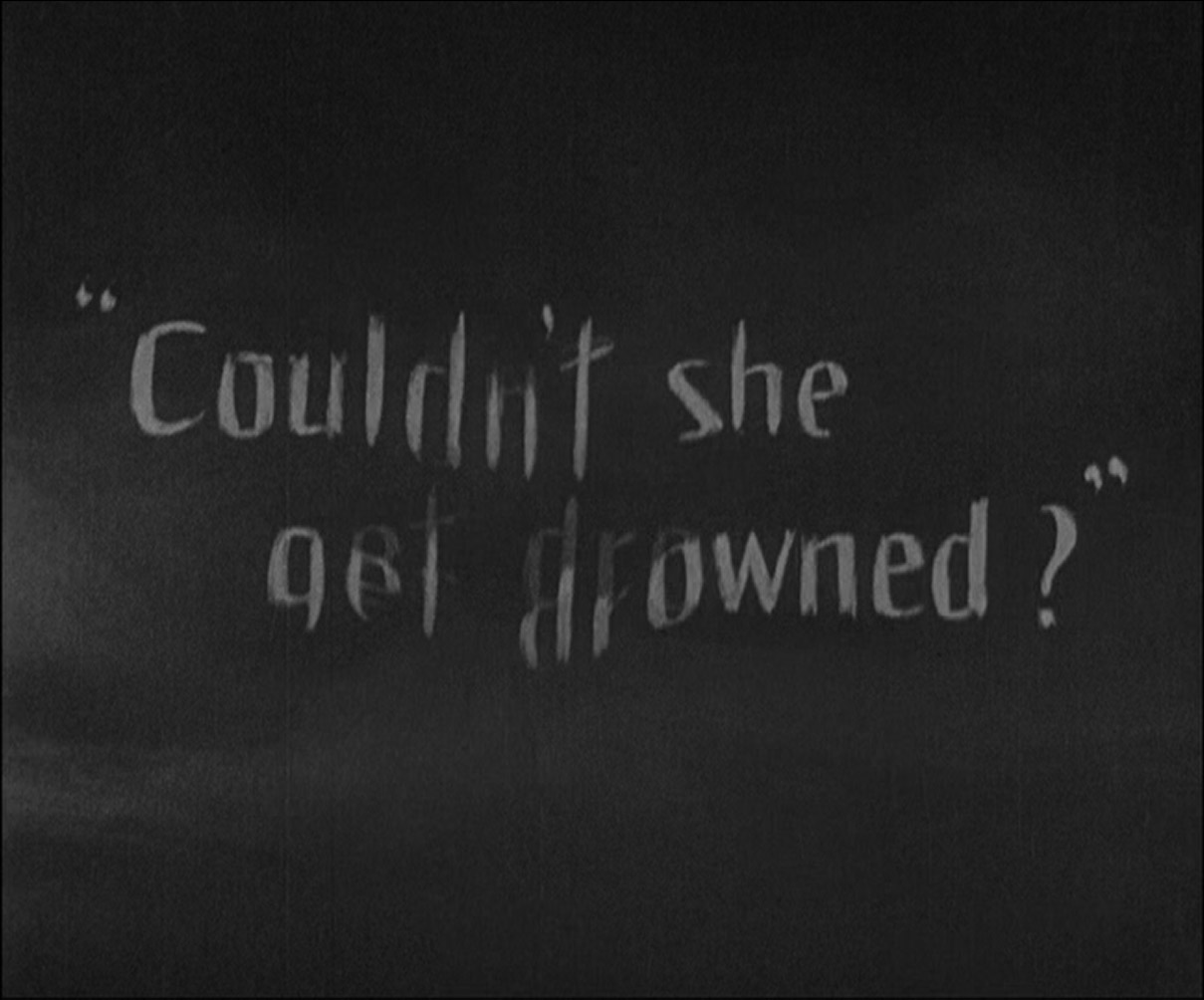"sunrise title card ""couldn't she get drowned?"""