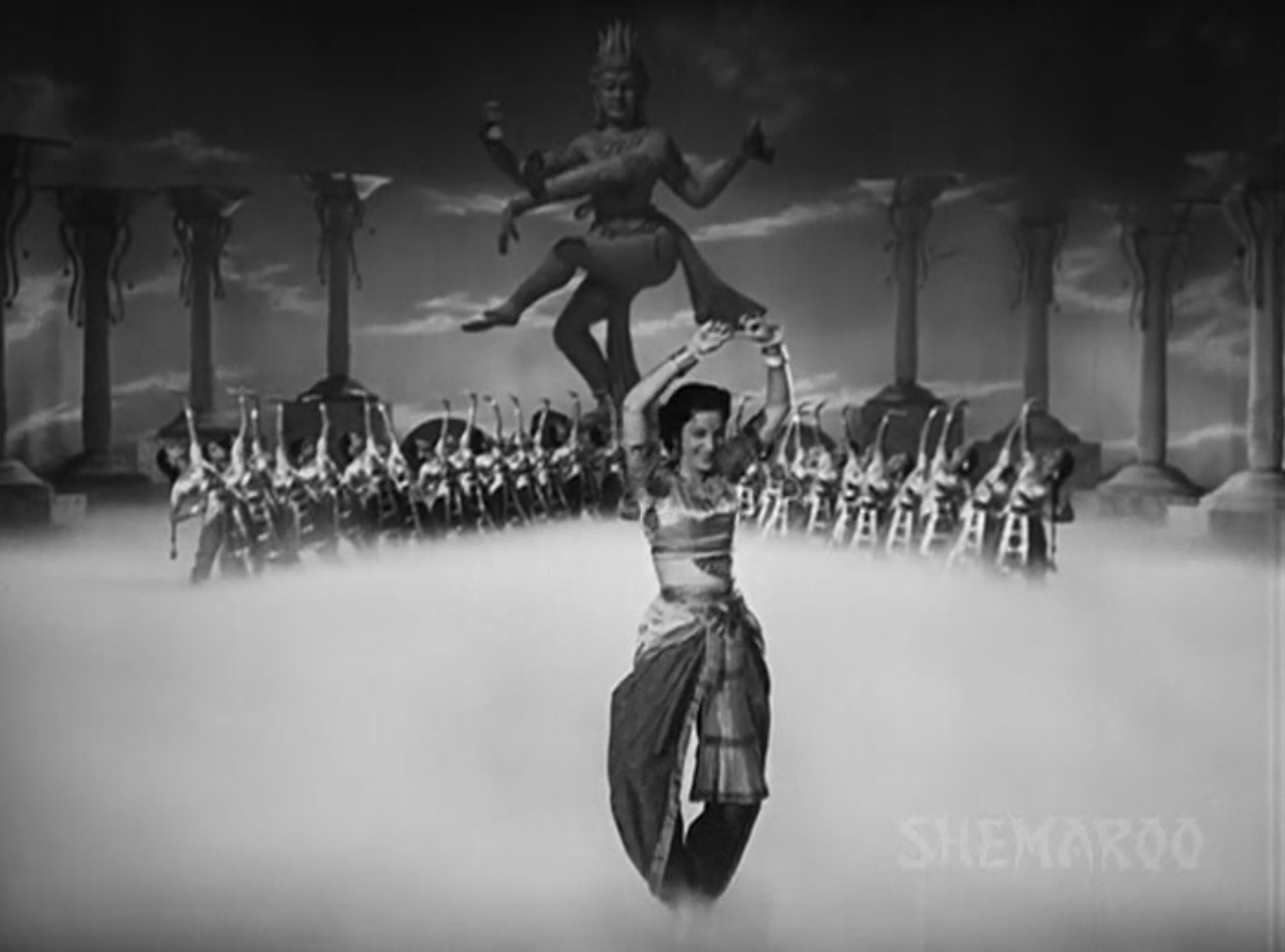 Dream sequence in Awaara