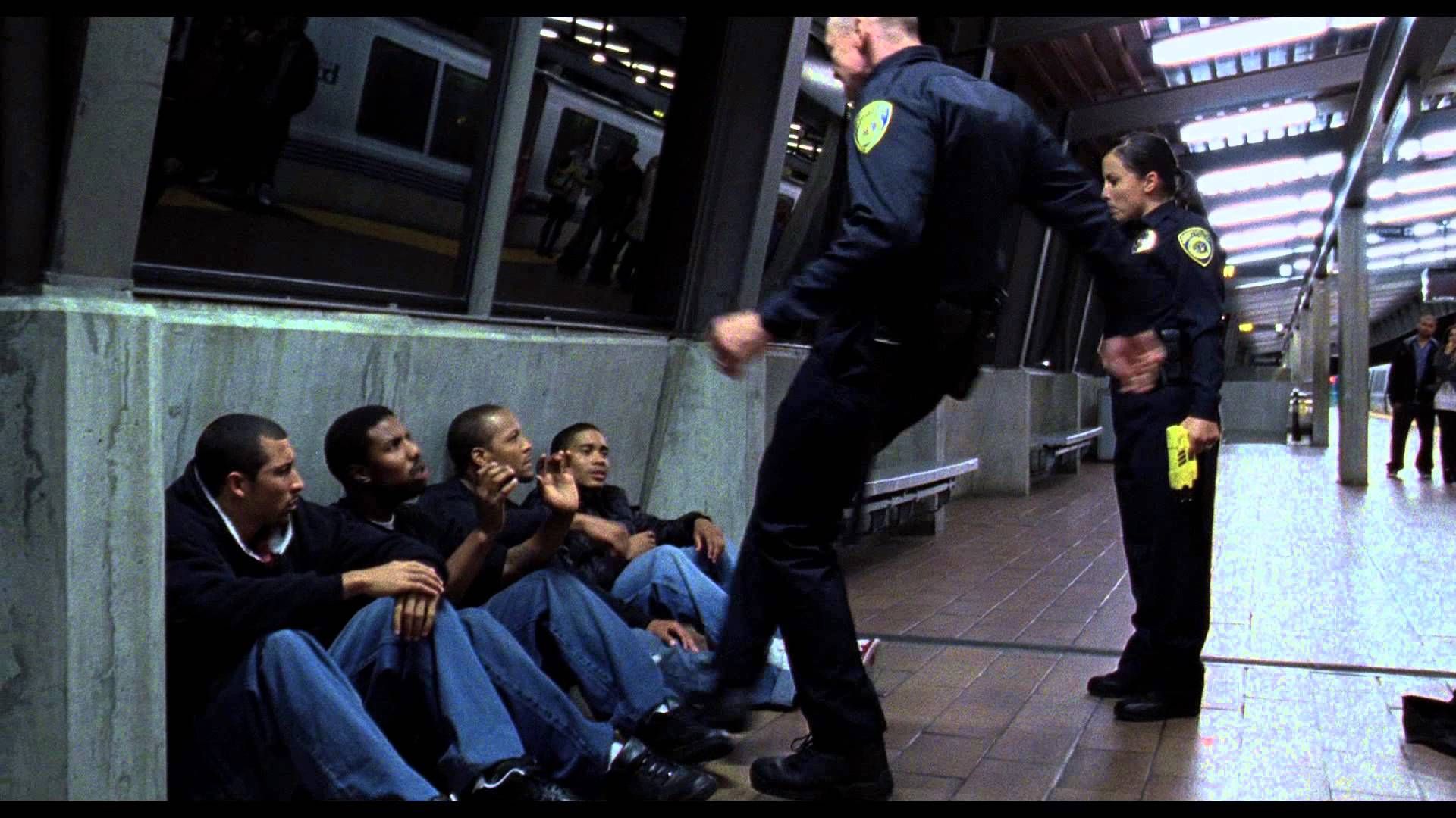 BART train in Ryan Coogler's Fruitvale Station