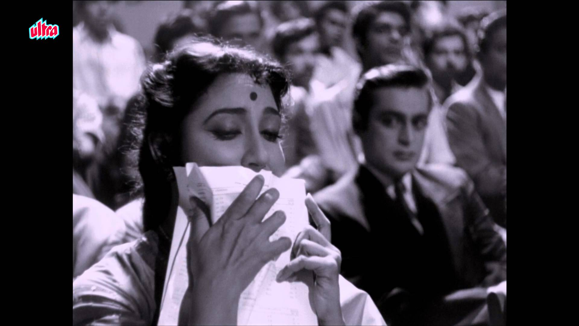 Rehman Khan and Mala Sinha in Pyaasa