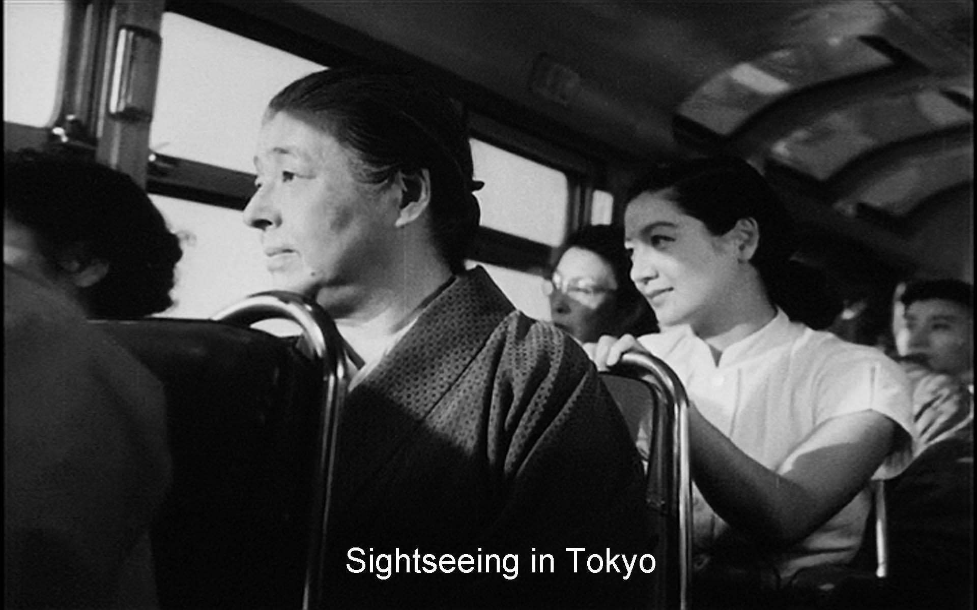 Train in Ozu's Tokyo Story