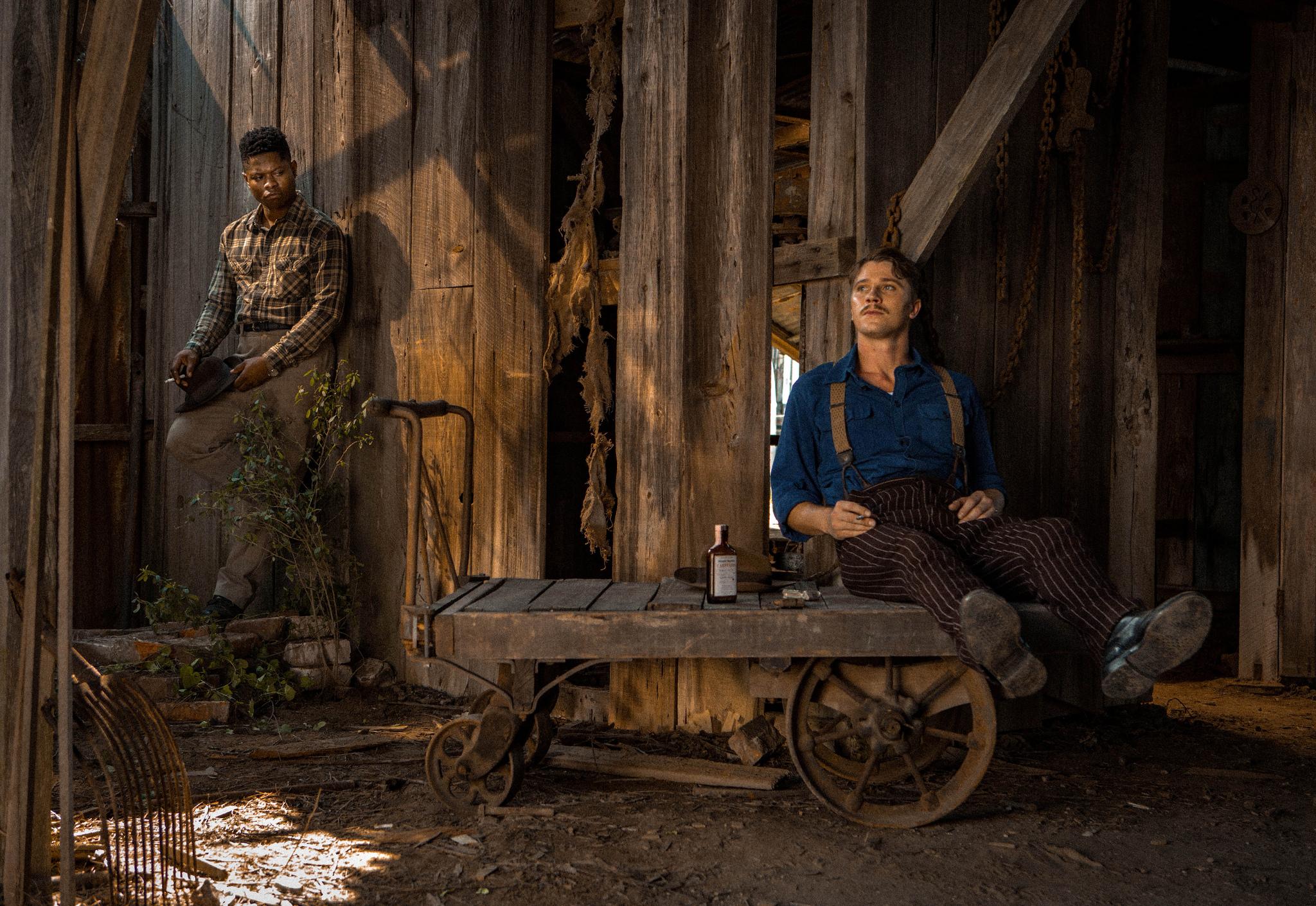 Jason Clarke and Jason Mitchell in Dee Rees' Mudbound at MVFF
