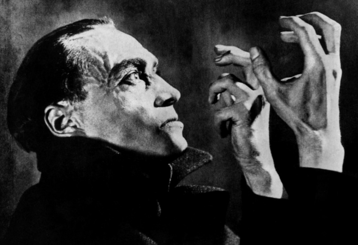 Spooktober silent The Hands of Orlac