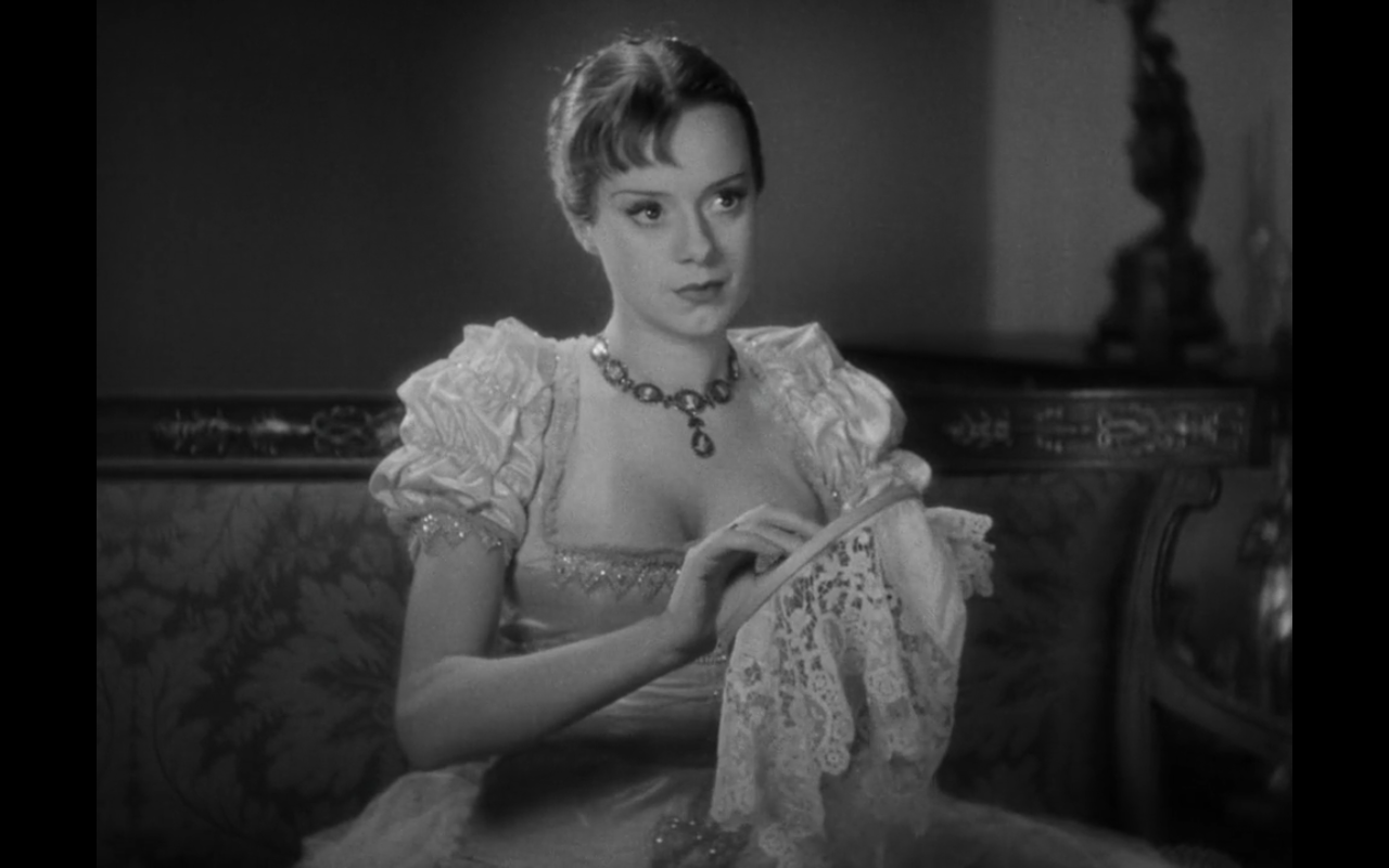 Elsa Lancaster as Mary Shelley in Bride of Frankenstein