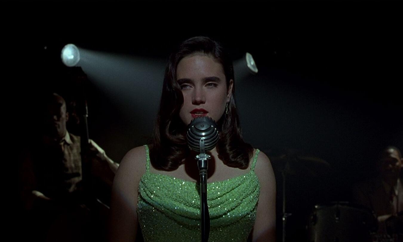 Jennifer Connelly singing in Dark City