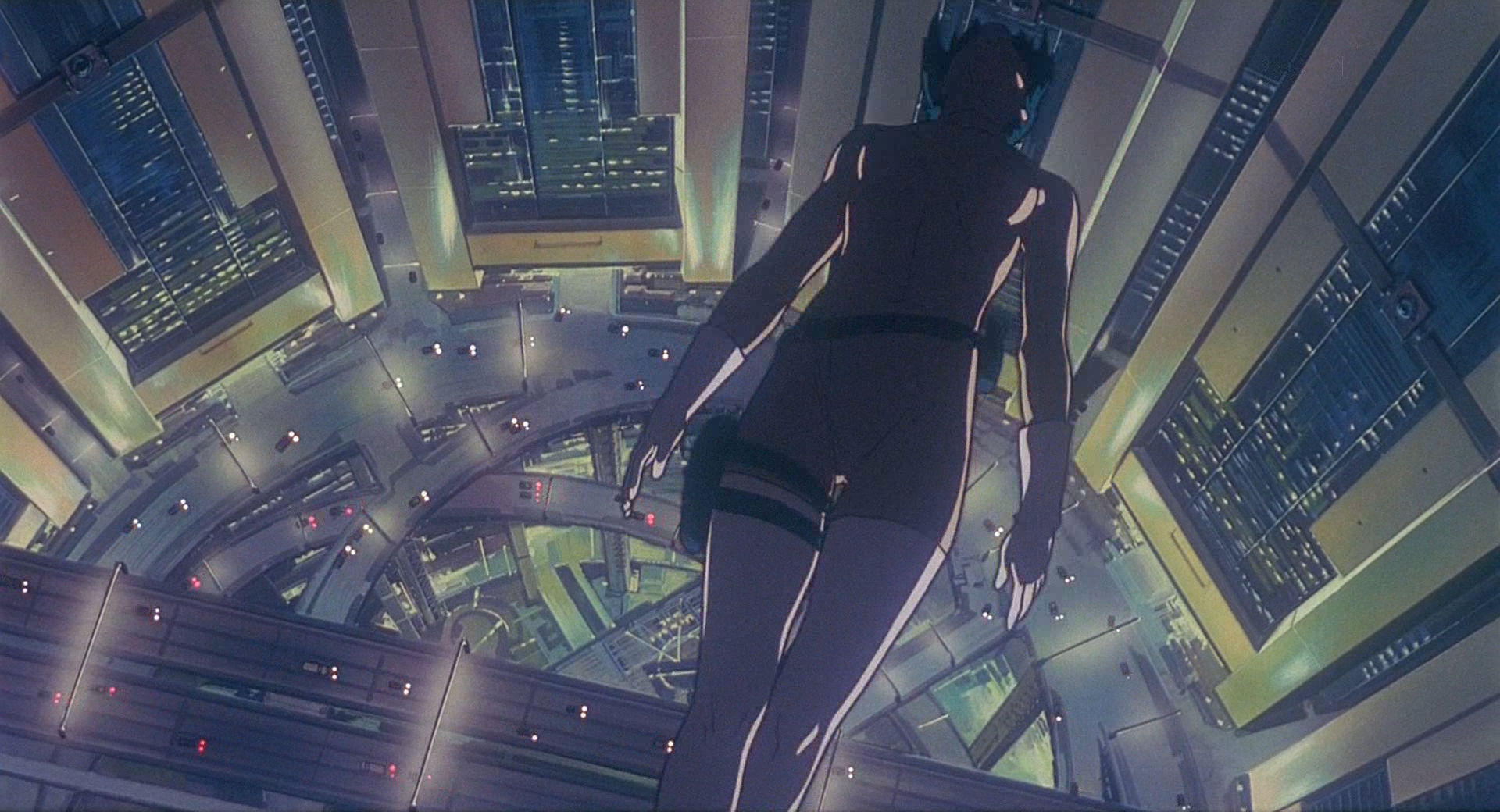 Ghost In The Shell cityscape