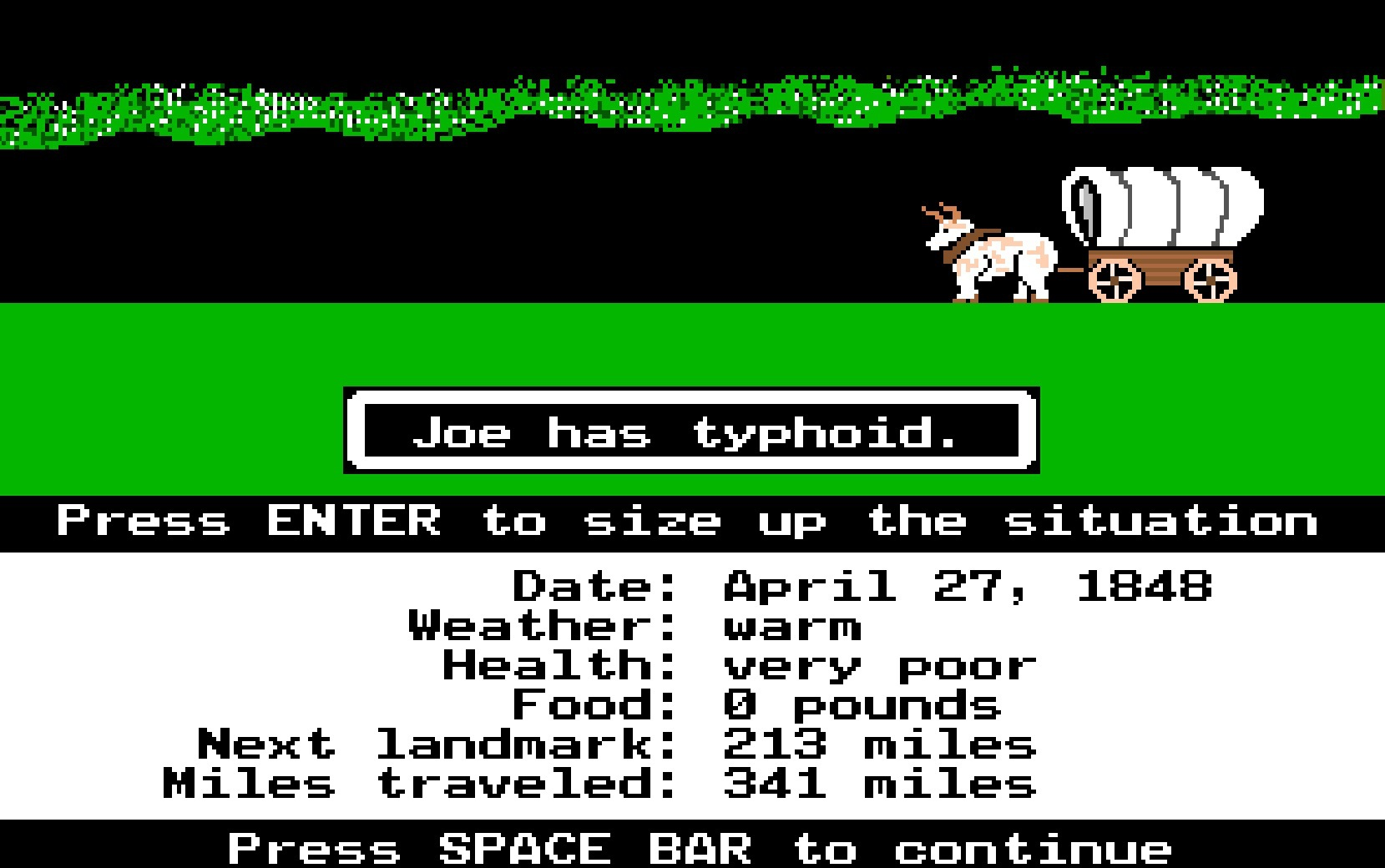 Oregon Trail as road trip