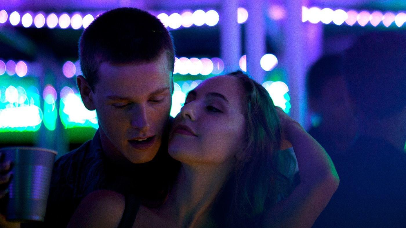 Harris Dickinson and Madeline Weinstein in Eliza Hittman's Beach Rats