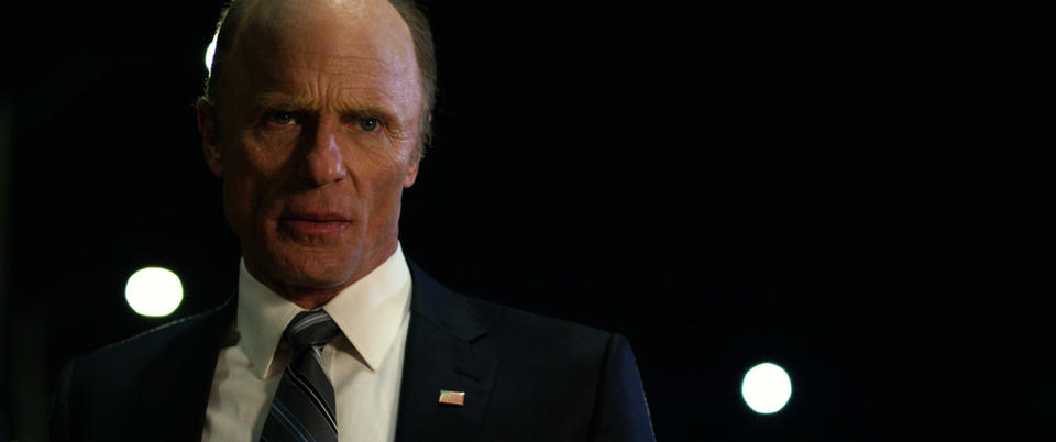 Ed Harris in Geostorm