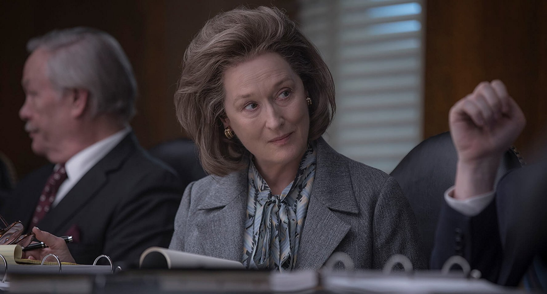 Meryl Streep as Katharine Graham in The Post