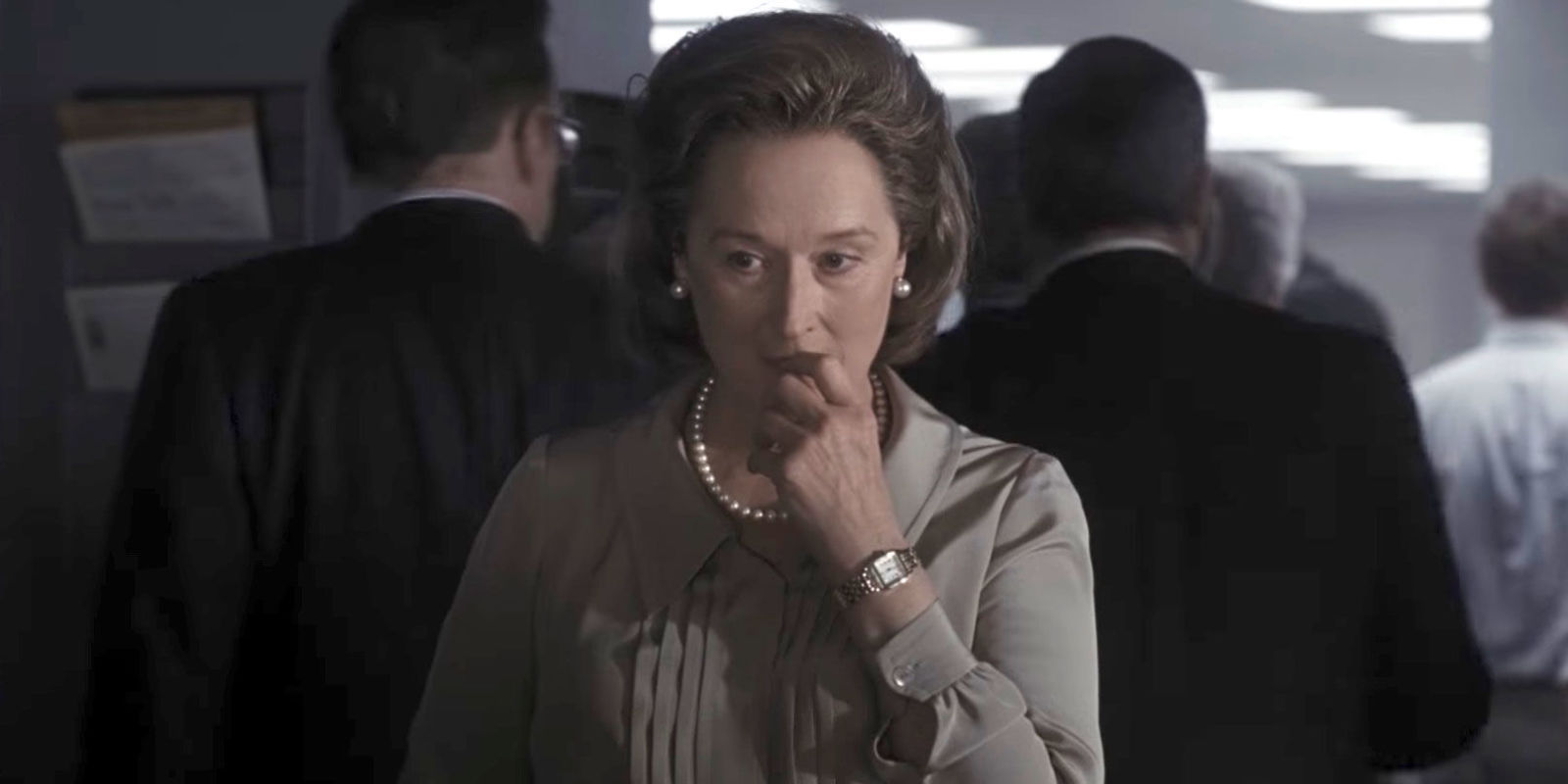 Meryl Streep in the Boy's Club of Steven Spielberg's The Post