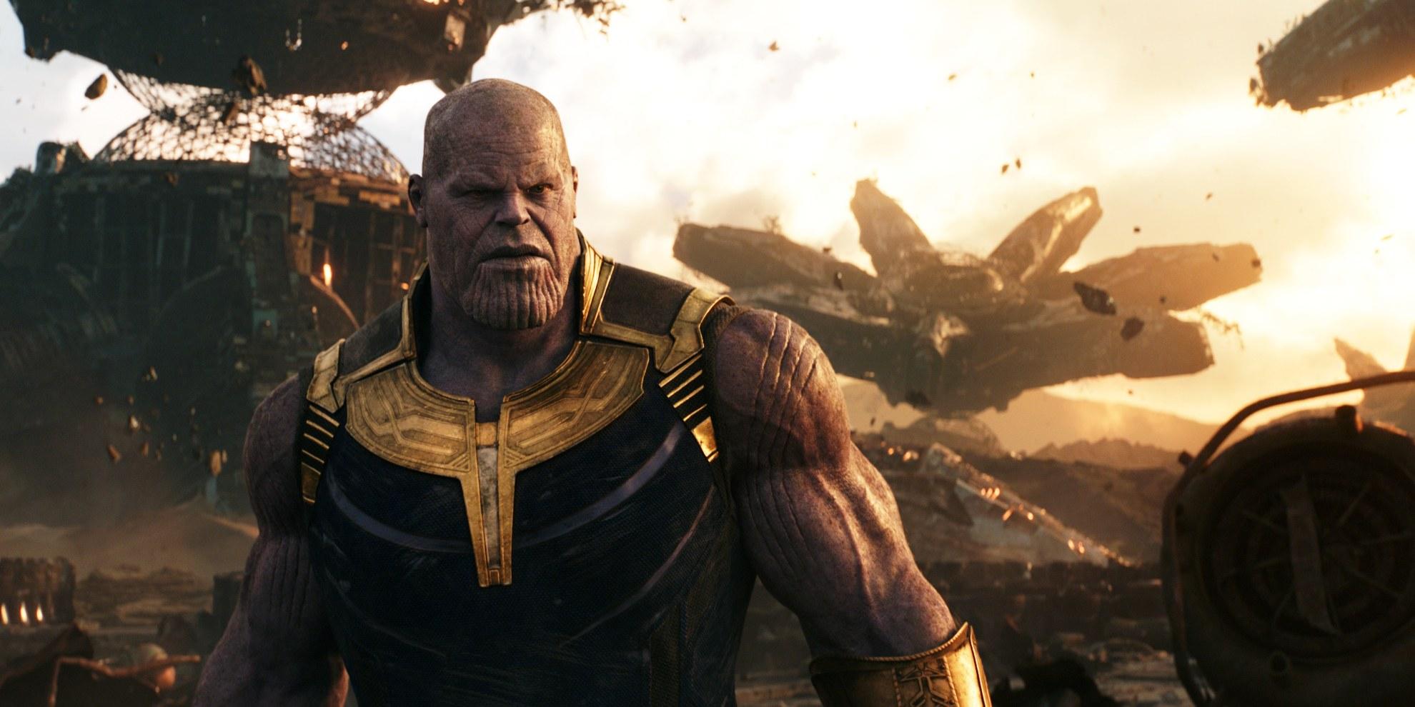 Josh Brolin as Thanos in Avengers: Infinity War