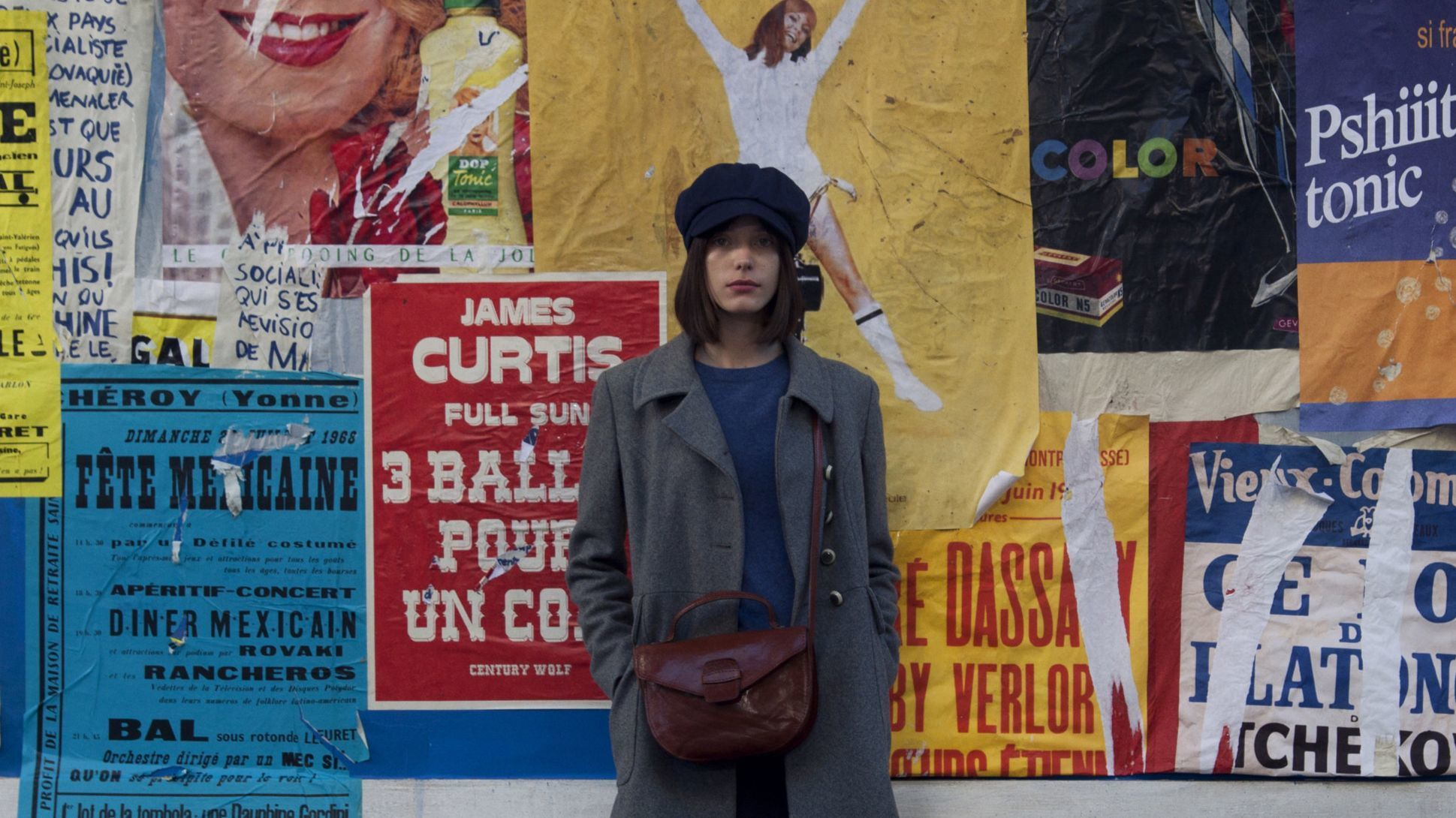 Stacy Martin in Hazanavicius' Godard Mon Amour