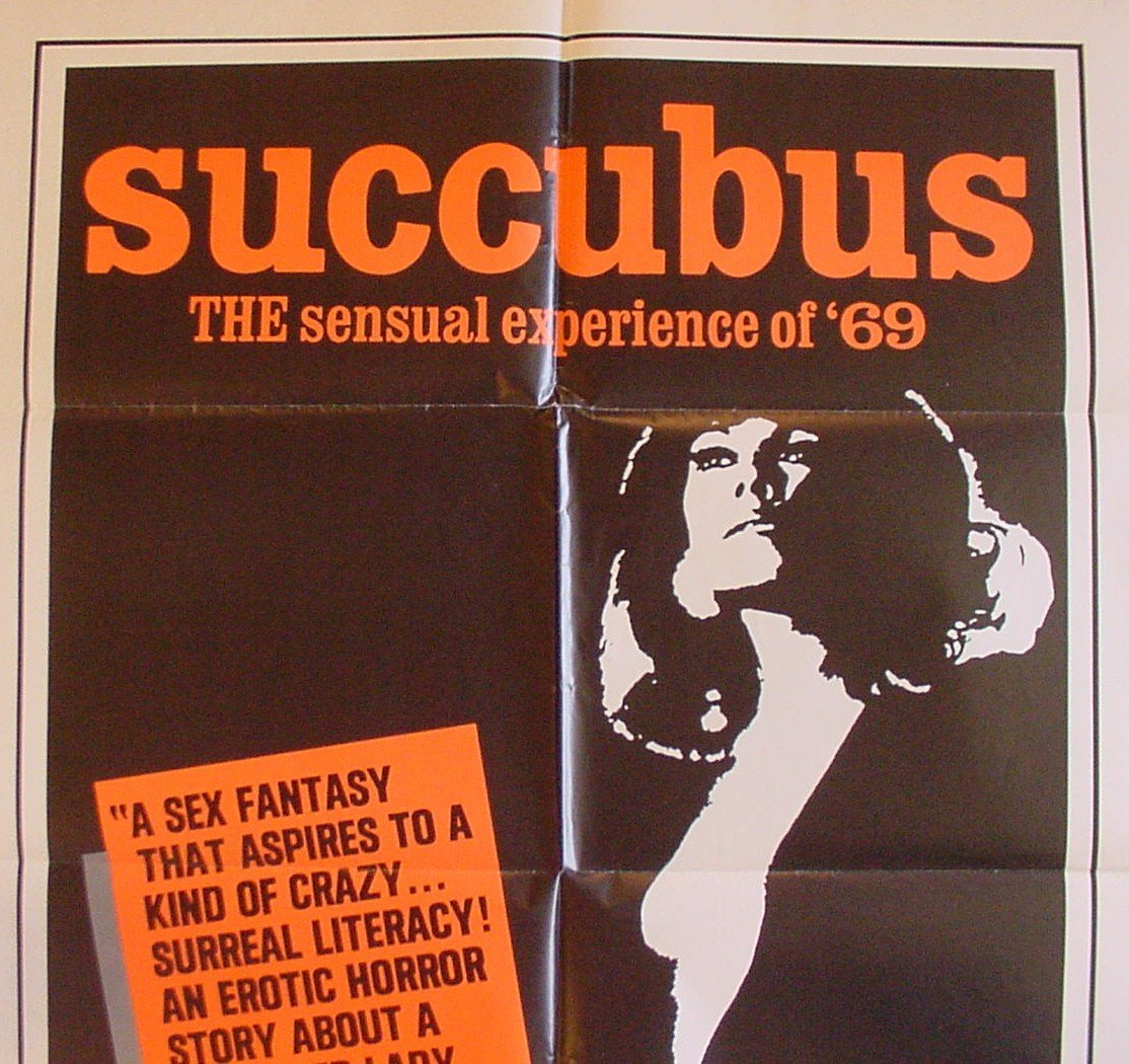 Poster for Jess Franco's Succubus