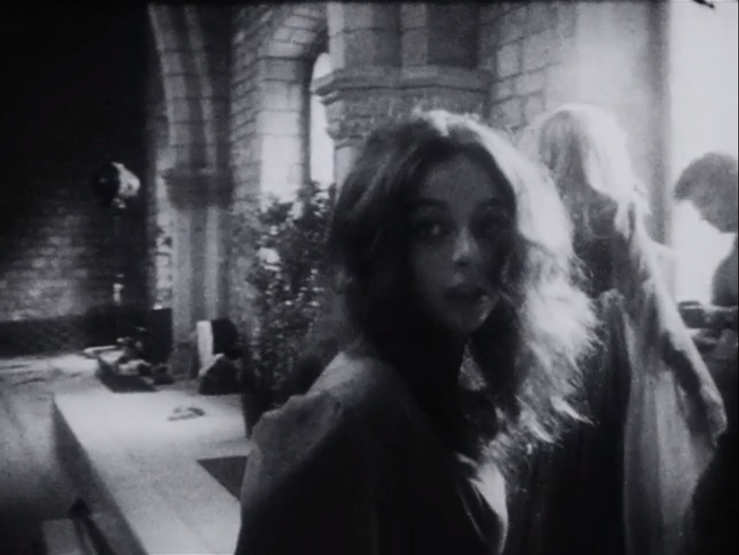 Maria Rohm and Soledad Miranda in Pere Portabella's Cuadecuc, vampir