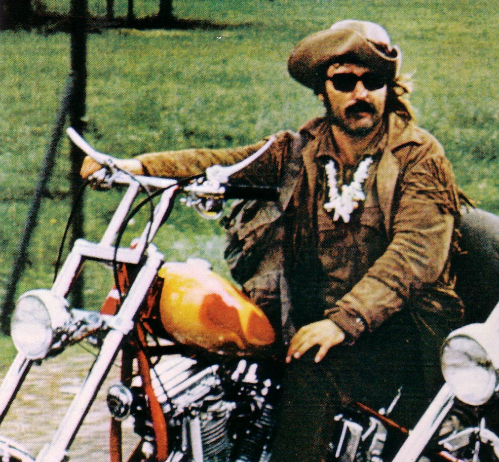 Dennis Hopper flashback to Easy Rider