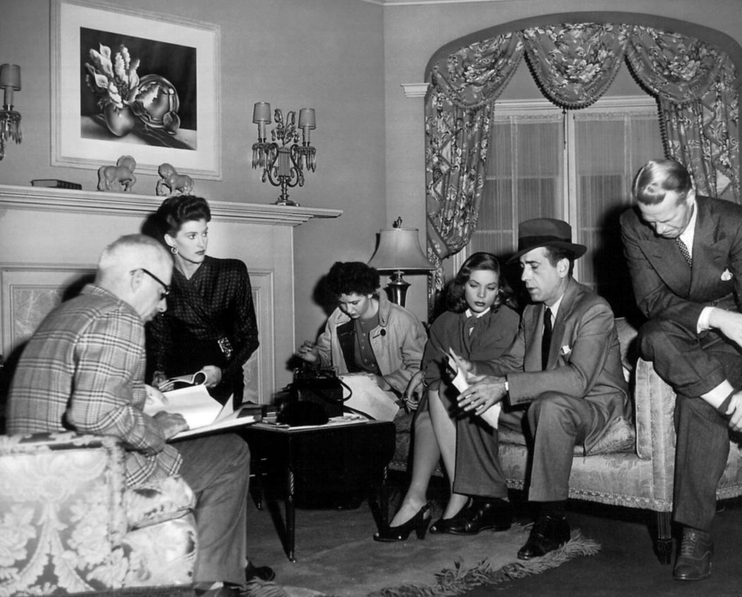 The Big Sleep between takes