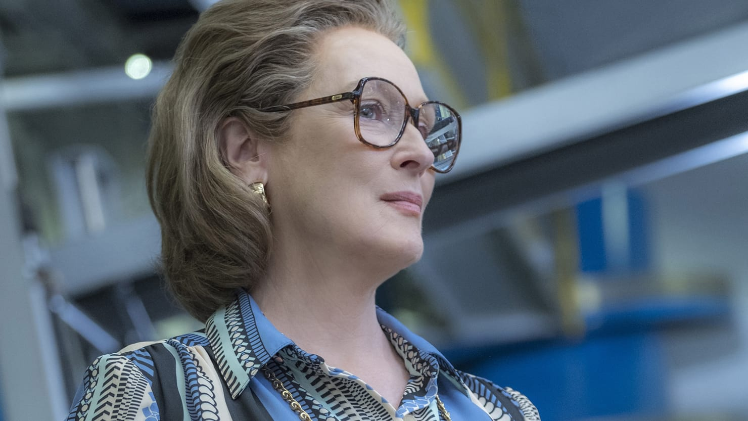 Meryl Streep in Steven Spielberg's The Post