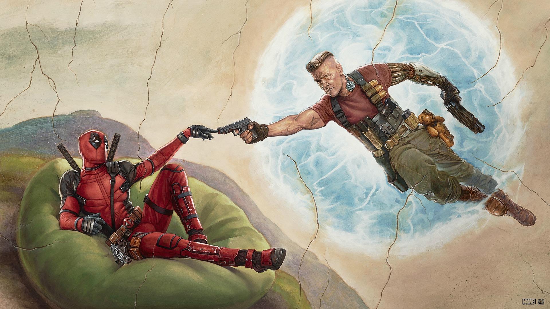 Ryan Reynolds and Josh Brolin Deadpool 2