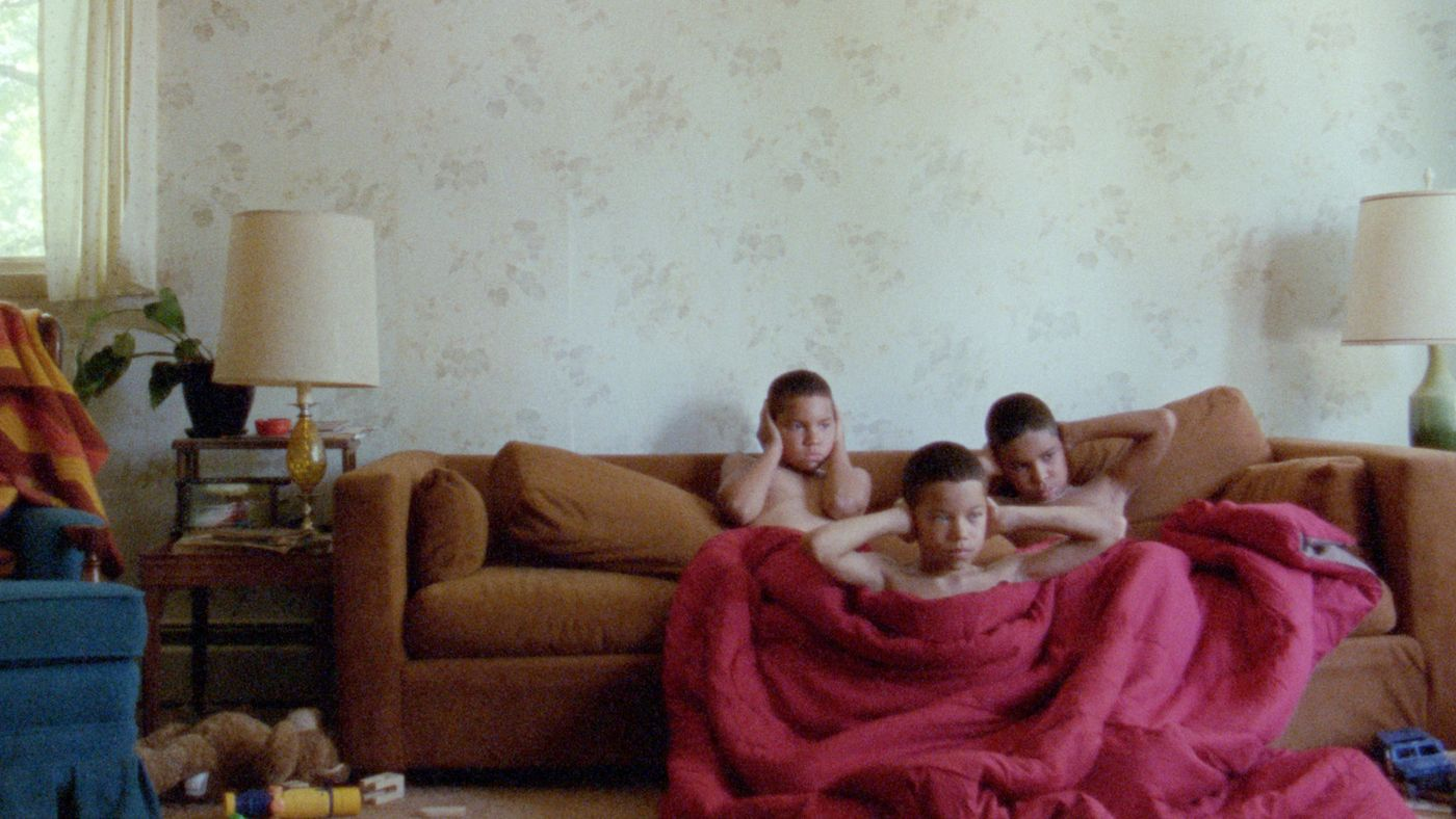 Evan Rosado, Josiah Gabriel, and Isaiah Kristian in We The Animals