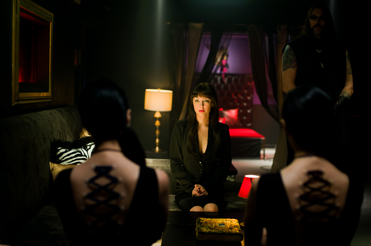 Katherine Isabelle in the Soska Sisters horror American Mary