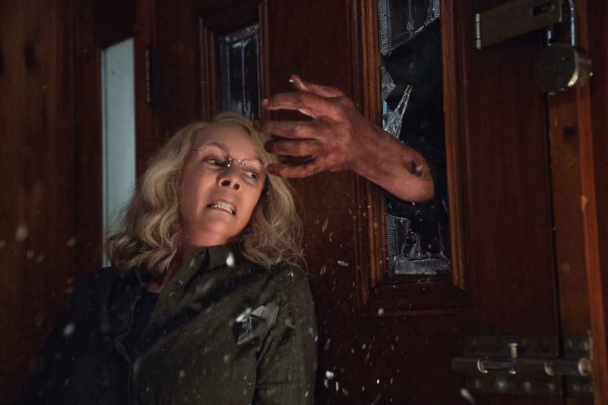 Jaime Lee Curtis in David Gordon Green's Halloween