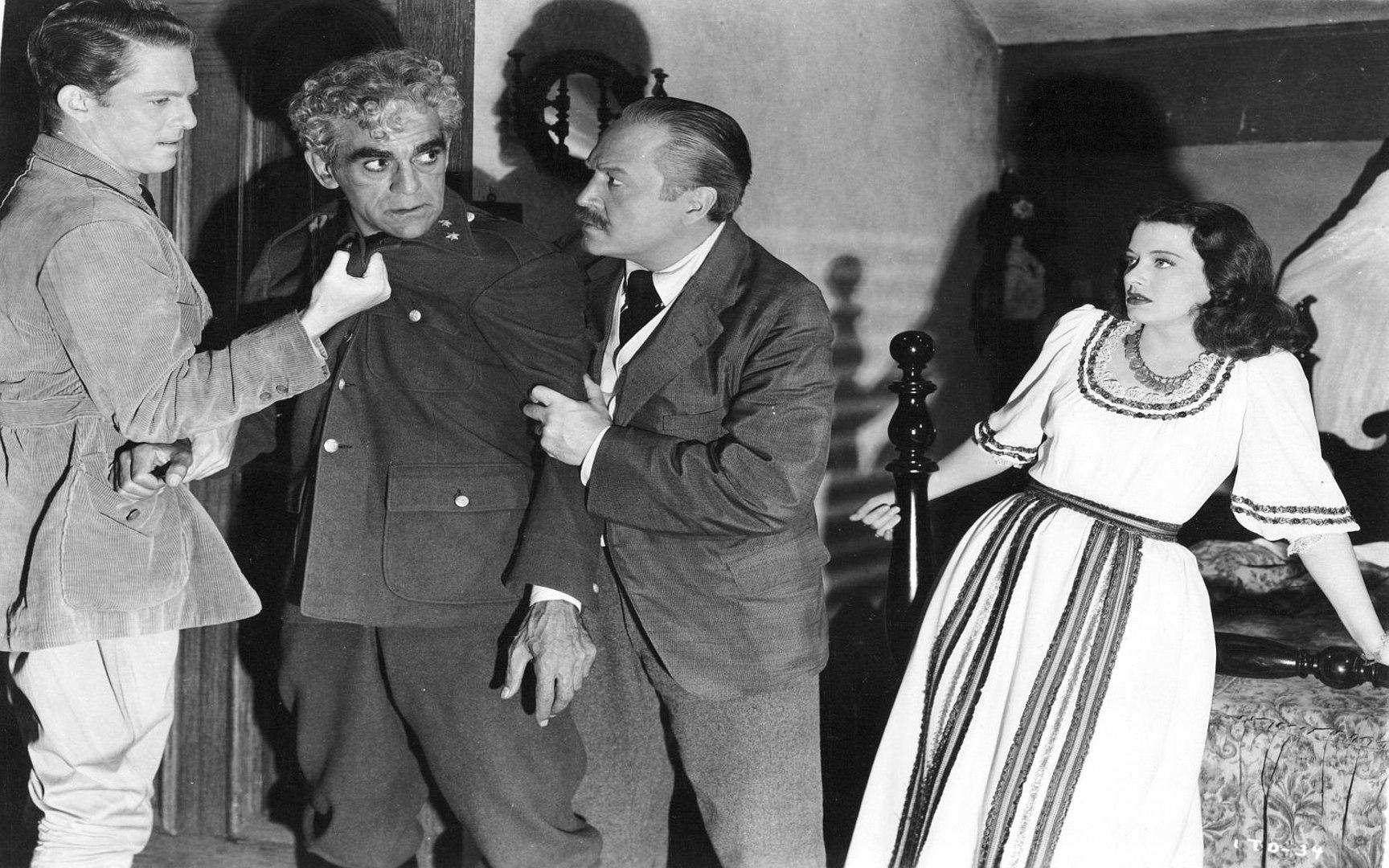 Boris Karloff in Val Lewton Mark Robson horror Isle of the Dead