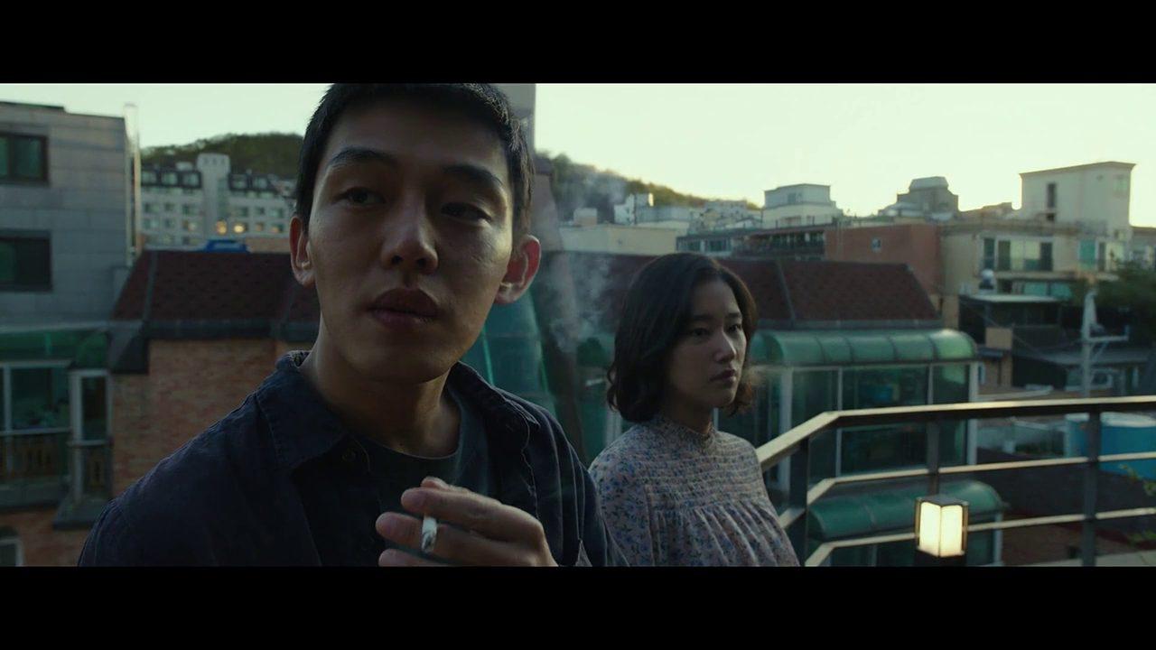 Jong-su (Ah-In Yoo) and Hae-mi (Jong-seo Jeon) in Chang-dong Lee's Burning