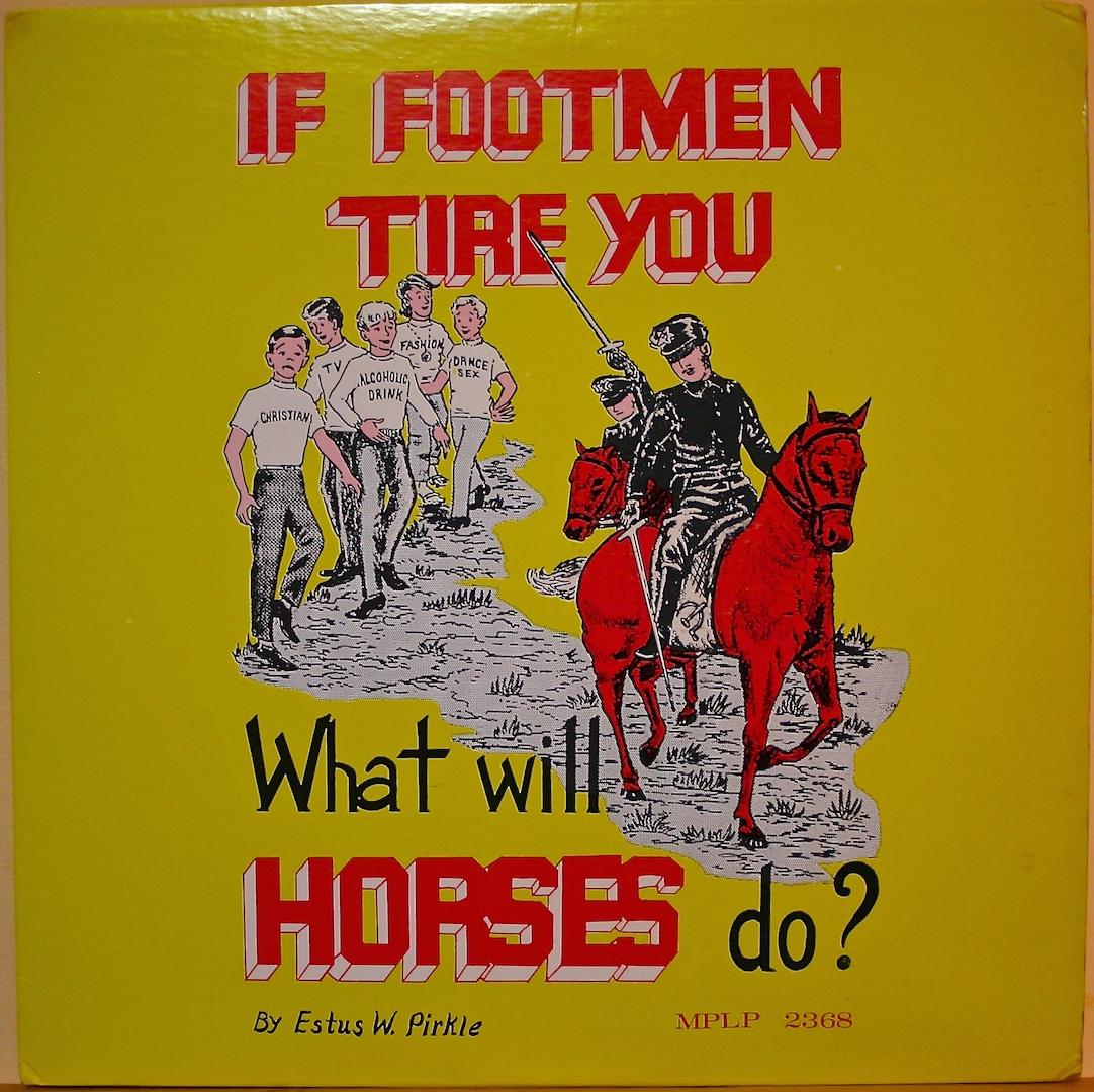 If Footmen Tire You byNWR Refn